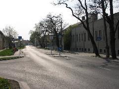 A mai Petőfi Sándor utcai buszmegálló (forrás: VEKE)