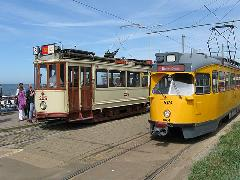 A hágával szomszédos, tengerparti Scheveningenben végállomásoznak a tömegközlekedési múzeum nosztalgiavillamosai., Hága (forrás: Sparing Dániel)