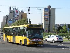 Az új 17-es autóbusz sem kanyarodik le az egykori végállomásra, hanem körjáratként folytatja útját Szabadhegyre, majd Jancsifalun át vissza a Belvárosba, Tihanyi Árpád út, Győr (forrás: VEKE)
