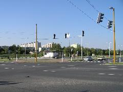 Kiürült az adyvárosi decentrum, Tihanyi Árpád út, Győr (forrás: VEKE)