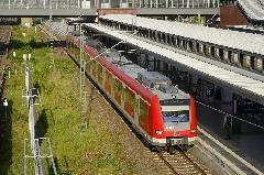 müncheni 423-as motorvonat, Gesundbrunnen, Berlin (forrás: Carsten Templin)
