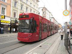 Flexity Outlook Cityrunner Innsbruckban..., Innsbruck (forrás: flickr.com/oberau-online)