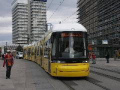 Az első Flexity Berlin 2008 szeptemberében érkezett meg a német fővárosba., Berlin (forrás: Müller Péter)