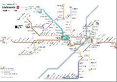 A müncheni villamoshálózat még a 23-as villamos előtt.
