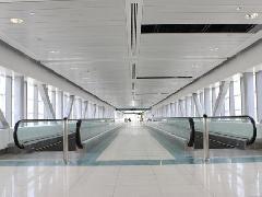 Mozgójárda a Dzsebel Ali állomáson, Dubaj (forrás: gulfnews.com)