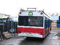 A BKV Rt. számára készülő trolibusz a Solaris gyár udvarán, Poznanban., Solaris gyár, Bolechowo (forrás: Adam Muth (http://transport.desk.pl))