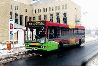 NABI Excel autóbusz az Uzsoki utcai kórháznál, Róna utca (Uzsoki kórház), Budapest (forrás: Hubay Miklós)