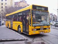 A Volánbusz Rt. NABI700SE típusú autóbusza, Széna tér, Budapest (forrás: Szőke Lajos)
