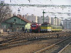A GYSEV pályaudvar és a 10-es vasútvonal összekapcsolásával lehetőség nyílna a közel 20 ezer fős Marcalváros vasúti kiszolgálására is. (forrás: Winkler Ágoston)