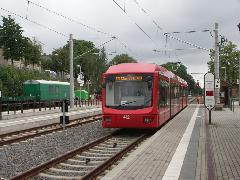Stollberg, végállomás., Chemnitz (forrás: Müller Péter)