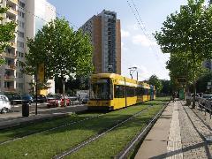Drezda városa a példakép, hogyan tud egy szegény kelet-európai város innovatív megoldásokkal mégis világszínvonalú közlekedési rendszert üzemeltetni., Drezda (forrás: Müller Péter)
