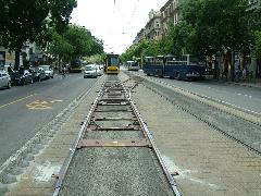 Sikeres volt az első kúszóváltó-telepítés., Jászai Mari tér, Budapest (forrás: Németh Zoltán Gábor)