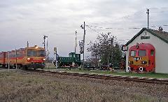 Az utolsó Karcag-Tiszafüred vonat a bezárás előtt 2009-ben - a vonal júliusban indul újra. (forrás: T. Hámori Ferenc  - Indóház)