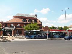XVII. Rákoskeresztúr városközpont, új buszforduló (forrás: Dorner Lajos)
