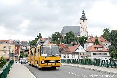 A helyi, chemnitzi erőket képviselte ez a 280-as, amely az utolsó Ikarusok egyikeként érkezett az NDK-ba 1990-ben.  (forrás: Andreas Leipoldt)