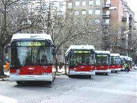 Ünnepélyesen átadták az új trolibuszokat Budapesten