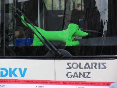 A Solaris kabalaállatkája az ünnepség egyik sztárja volt., Piac utca, Debrecen (forrás: Hajtó Bálint)