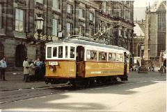 Újabb öreg villamos tér haza Amszterdamból!