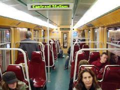 Utastájékoztatás a brüsszeli metrón, Brüsszel (forrás: Németh Attila)
