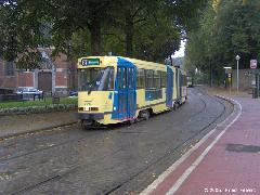 PCC-konstrukciójú villamos a brüsszeli hálózaton, Brüsszel (forrás: Friedl Ferenc)