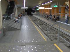 Premetro állomás, Zuid Station/ Gare Du Midi, Brüsszel (forrás: Friedl Ferenc)
