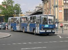 A BKV BPO-848-as rendszámú 280.49-ese a Nyugati Pályaudvárnál, Nyugati tér, Budapest (forrás: Istvánfi Péter)