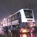 Tréleren egy vezetőállásos kocsi. Fehér út, Budapest (forrás: Hajtó Bálint)