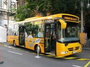 Credo EN 9,5 ideális midibusz kisforgalmú vonalakra. (Forrás: Mihályfi Márton)