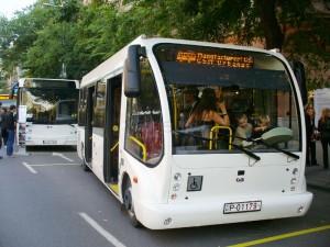 A Csaba Metál Urbanus busza. (Forrás: Friedl Ferenc)