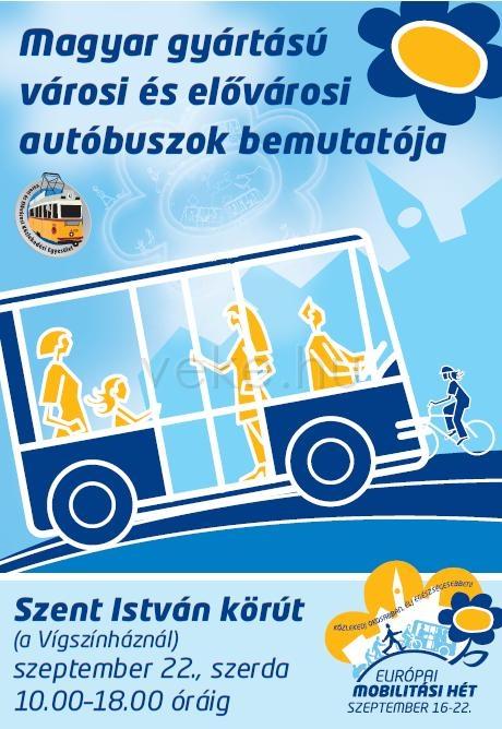 Magyar buszok bemutatója