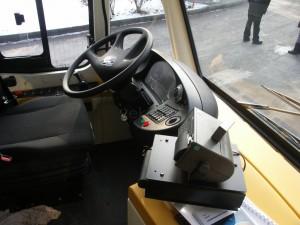 A vezetőfülke kialakítását dícsérték a sofőrök (fotó: Müller Péter)