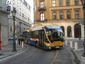 A Belváros szűk utcáiban (fotó: Müller Péter)