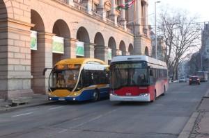 Sirius + Solaris - tetszenek a csillagnevek a buszgyártóknak. Ráadásul mindkettőben van sok magyar vonatkozás (fotó: Gégény András)