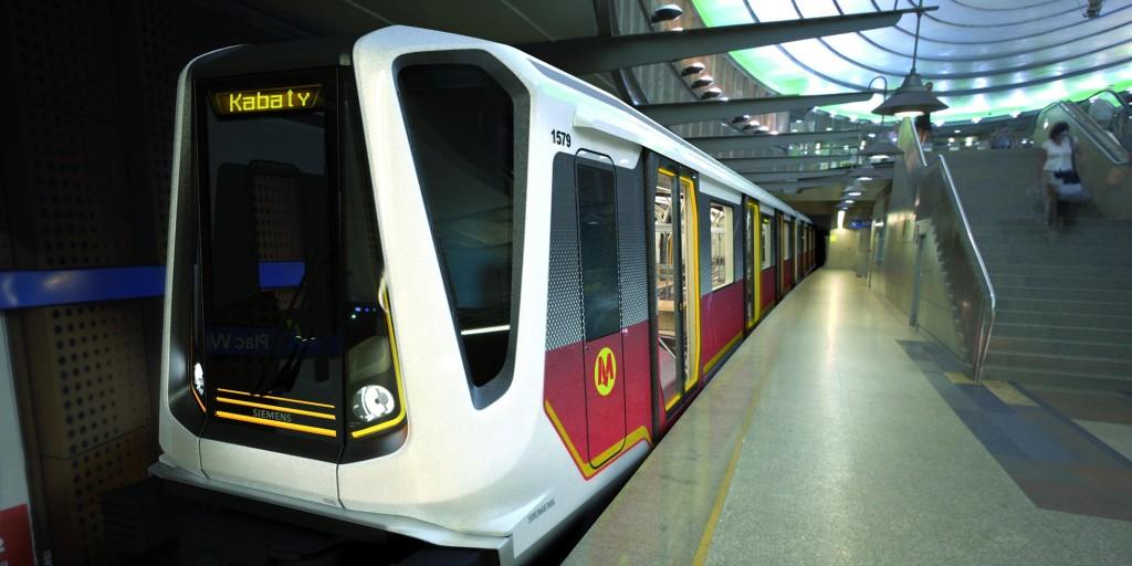 Varsó számára a NEWAG-Siemens konzorcium gyárt metrókocsikat - Lengyelországban