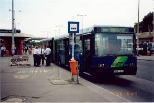 A 117-esből lett Újhegy-busz első napján