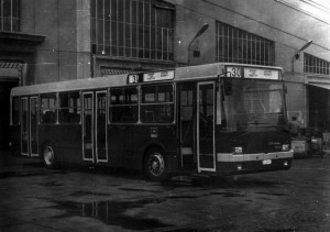 A prototípus (BU 86-07) a Récsei garázsban