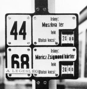 Az Örs vezér tere - Bosnyák tér - Móricz Zsigmond körtér viszonylatban közlekedő 68-as végnapjai (forrás: Szigeti Dániel)