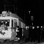 Az utolsó Rákóczi úti villamos indulás előtt., Baross tér, Budapest (forrás: Nagy Zsolt Levente)