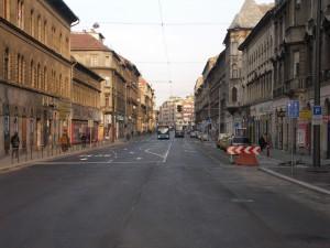 A VEKE a Thököly út megnyitása helyett a forgalomcsillapítás fenntartását kéri