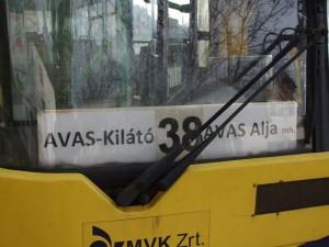 Most már nem csak ideiglenesen rövidül a 38-as busz útvonala