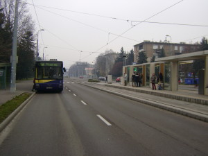 A Diósgyőri Gimnáziumnál kiépített villamos betétjárati végállomás talán örökre használaton kívül marad